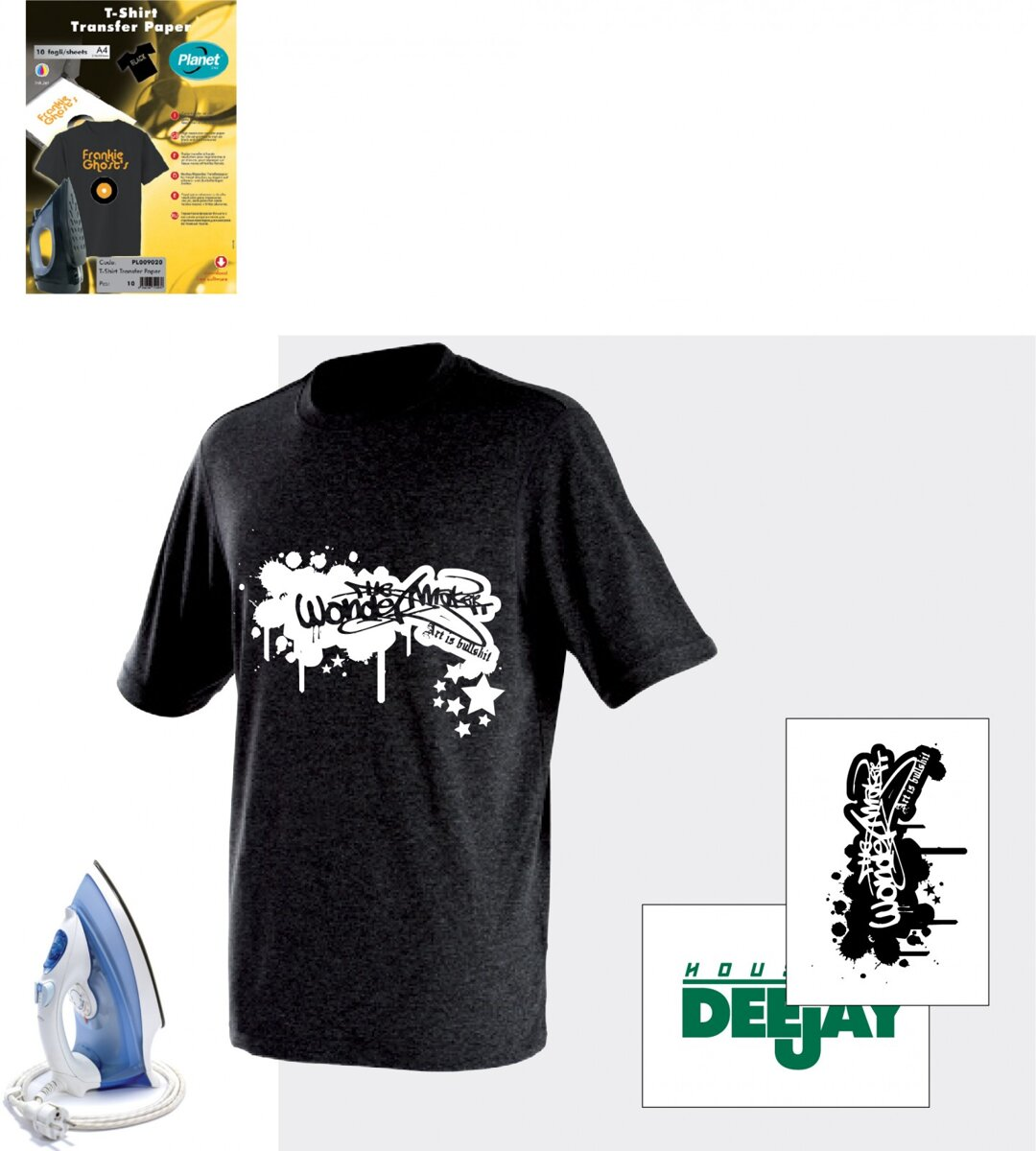 Black t shirt transfer paper - T Shirt Transfer Paper For Black