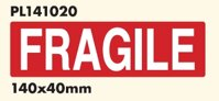 FRAGILE  140x40 mm