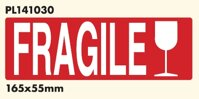 FRAGILE  165 x 55 mm