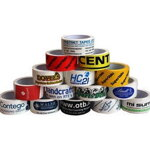 Printed adhesive tapes - 50 mm x 66 m (2-color printing)