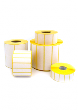 Labels in roll - for THERMAL TRANSFER printers