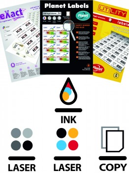 Sheets labels Laser /Inkjet