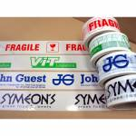 Printed adhesive tapes - 50 mm x 66 m (1 color print)
